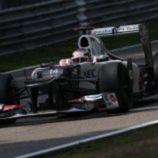 Kamui Kobayashi llegó a la Q3 en Italia