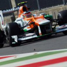 Nico Hülkenberg no pudo clasificarse y saldrá último en Monza