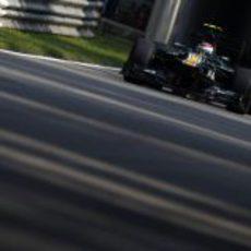 Vitaly Petrov clasificó por detrás de su compañero en Monza