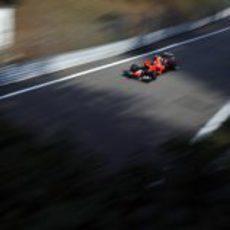 Charles Pic clasificó 21º en el fin de semana de Italia