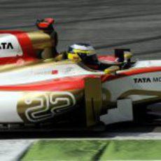 Pedro de la Rosa cumplió 100 GP en Italia
