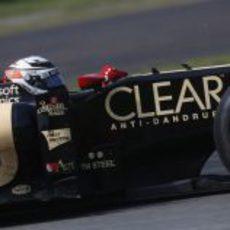 Kimi Räikkönen terminó en quinta posición el GP de Italia