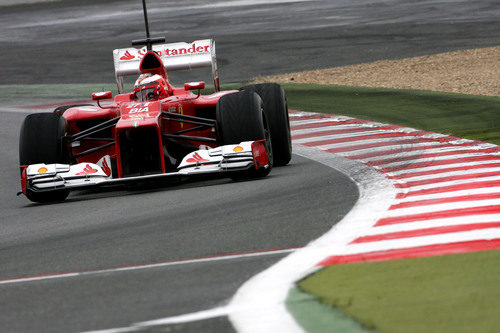 Jules Bianchi vuelve a rodar para Ferrari