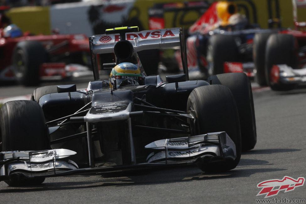 Bruno Senna quedó décimo en el Gran Premio de Italia 2012