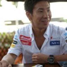 Kamui Kobayashi llega a Singapur