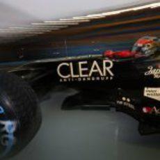 Neumáticos de lluvia para Romain Grosjean