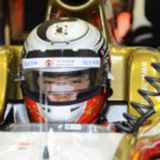 Ma Qing Hua disputó los Libres 1 del GP de Singapur 2012
