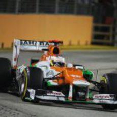 Paul di Resta logró su mejor resultado en Singapur