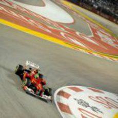 Felipe Massa acabó en los puntos en Marina Bay