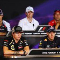 Rueda de prensa de la FIA del jueves en el GP de Singapur 2012