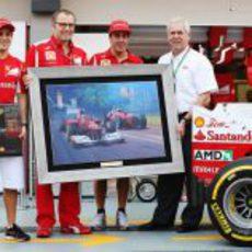 Ferrari y Shell se hacen la foto por sus 500 GP juntos