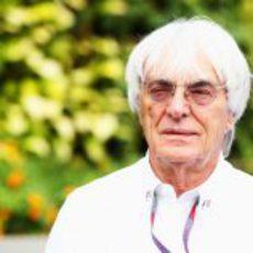 Bernie Ecclestone en el GP de Singapur 2012