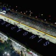 Parrilla del GP de Singapur 2012