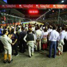 Minuto de silencio por el Profesor Sid Watkins en Singapur