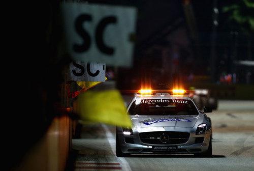 Coche de seguridad en el GP de Singapur 2012