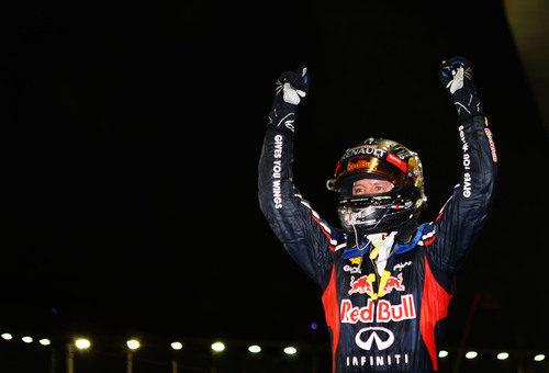 Sebastian Vettel vence en el GP de Singapur 2012