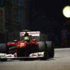 Felipe Massa no pasó a la Q3 en Marina Bay