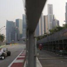 Kamui Kobayashi no pudo pasar a la Q2 en Singapur