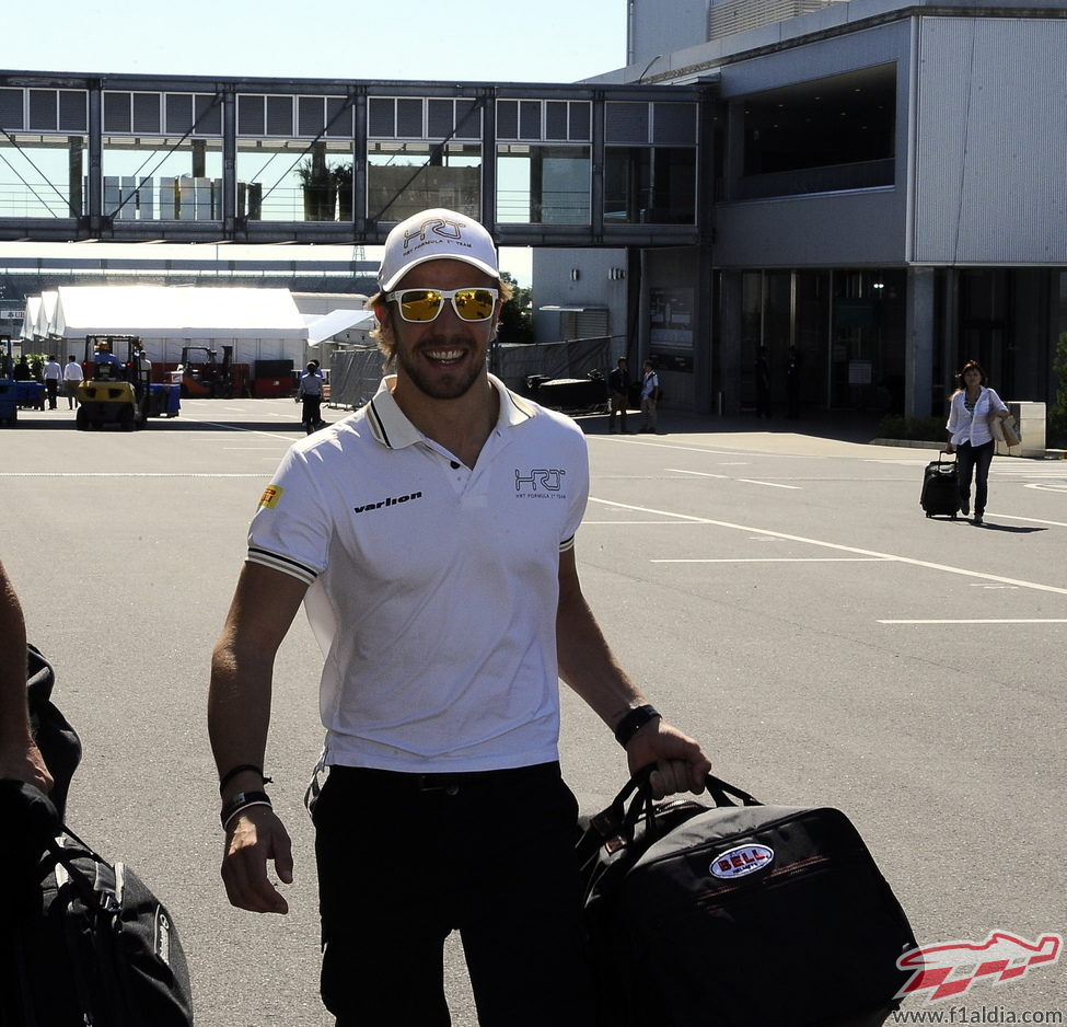 Dani Clos llega al circuito de Suzuka