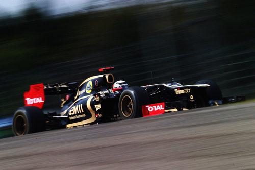 Kimi Räikkönen en la clasificación del GP de Japón 2012