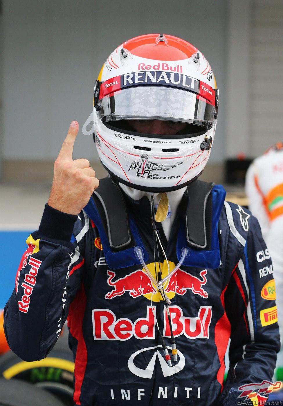 Sebastian Vettel logra la 'pole' en el GP de Japón 2012