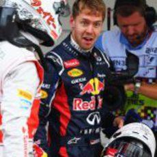 Sebastian Vettel, ¿sorprendido por su 'pole'?