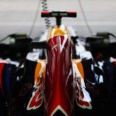 Cubierta motor del Red Bull en Suzuka
