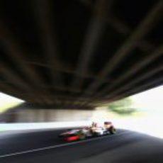 Pedro de la Rosa en la clasificación del GP de Japón 2012