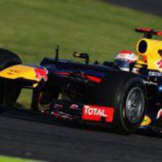 Sebastian Vettel lidera el GP de Japón 2012