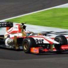 Narain Karthikeyan completa los Libres 2 del GP de Japón