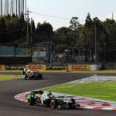 Heikki Kovalainen estuvo cerca de los puntos en Suzuka