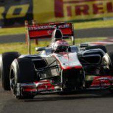 Jenson Button acarició el podio en Suzuka