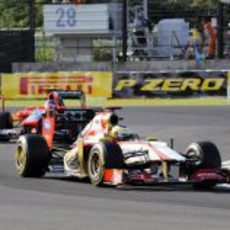 Pedro de la Rosa terminó 18º la carrera de Japón
