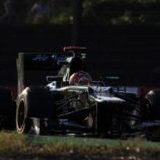 Heikki Kovalainen llevó su CT01 hasta la 15ª plaza en Japón