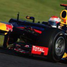 Sebastian Vettel ocupó la primera posición durante todo el GP de Japón 2012