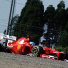 Fernando Alonso hizo un único intento en Q3