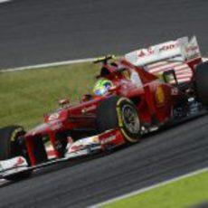 Felipe Massa no entró en la Q3