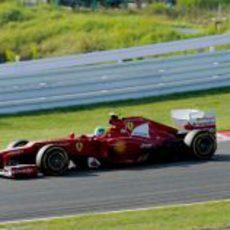 Felipe Massa tuvo muy buen ritmo durante el GP de Japón 2012