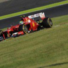 Felipe Massa subió al podio por primera vez en 2012