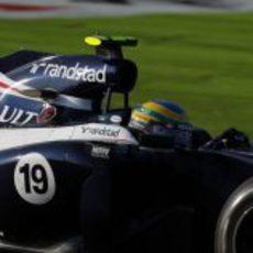 Bruno Senna, 14º en Japón