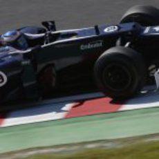 Valtteri Bottas se subió al FW34 en los Libres 1