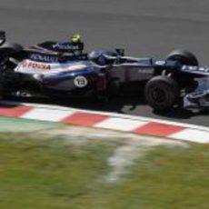 Valtteri Bottas prueba el FW34 para Williams