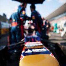 El STR07 en parrilla del Gran Premio de Japón