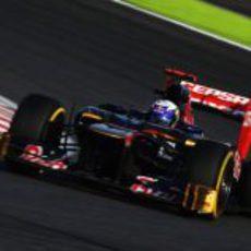 Daniel Ricciardo, un punto en Suzuka