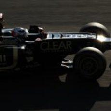Kimi Räikkönen brilla en Suzuka