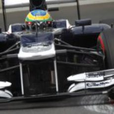 Bruno Senna se quedó fuera de la Q2 en Corea