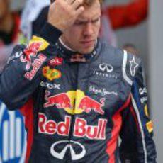 Sebastian Vettel se quedó a las puertas de la pole en Corea