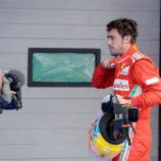 Fernando Alonso fue cuarto en la clasificación de Corea 2012