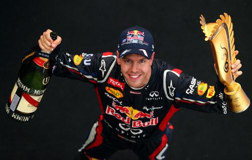 Sebastian Vettel, ganador del GP de Corea 2012