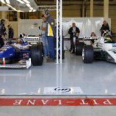 Monoplazas clásicos en Silverstone